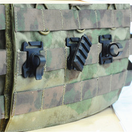 $enCountryForm.capitalKeyWord NZ - Tactical Hunting 3 Type Molle Vest Adapter for 25mm Webbing Multipurpose Rail Mount Tube Pipe