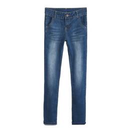 $enCountryForm.capitalKeyWord UK - new loose small straight jeans women high waist large size elastic fat MM plus velvet straight pants trousers