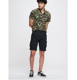 Loose Clothing Fashion Australia - Mens Summer Solid Color Cargo Pants Loose Zipper Button Pocket Homme Shorts Fashion Relaxed Casual Clothing