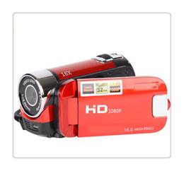 Tft Digital Camera Lithium Australia - Digital Video Camcorder Camera 16MP High Definition Camera 1080P 2.7 Inches TFT LCD Screen 16X Zoom US Plug