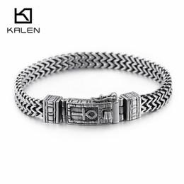 $enCountryForm.capitalKeyWord Australia - 8mm New Egyptian Ankh Symbol Of Life Charm Bracelets For Men Women Stainless Steel Silver Mesh Linking Chain Bracelet Jewelry T7190615