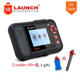 Toptan satış 2017 Yeni X431 CReader VII + ARABA Kod Okuyucu VII Artı Teşhis Aracı Güncelleme Çevrimiçi Çoklu Dil hediye Ile