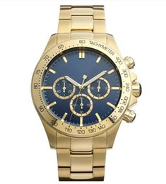 Chinese  2019 Japan Movement Ikon Men's Watch 1513340 Chronograph Stainless Steel Gold-Plated Watch manufacturers