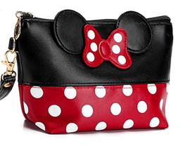 $enCountryForm.capitalKeyWord UK - wholesale Travel Cosmetic Bag Cartoon Bow Makeup Case Women Zipper Hand Holding Make Up Handbag Organizer Storage Pouch