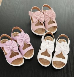year girl sandals NZ - 2 to 12 years old children summer kids girls shoes summer princess bow sandals girls favorite