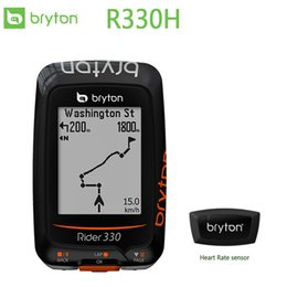 $enCountryForm.capitalKeyWord Australia - Rider 310H GPS Bicycle Bike Cycling Computer Extension Mount with ANT+ Heart rate monitor sensor BRYTON #567576