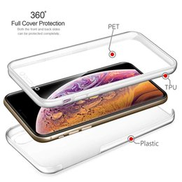 $enCountryForm.capitalKeyWord UK - 360 Full Protection Transparent Hard PC Back and Soft Silicone Tpu Front Integrated Slim Protective Cover Case for Iphone XS Series