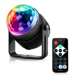 DHL LightMe Holiday Light 3 Control Modes RGB LED Party Effect Disco Ball Light Stage Lighting Professional Christmas Wedding Lamp on Sale