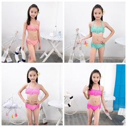 29edf876ee046 Big girls swimsuit rhinestone Tassels children bikini set kids girl swimwear  summer beach clothes 7-16 YEARS