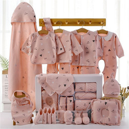 Discount newborn baby gift set clothing Newborn Clothes Baby Gift Box Pure Cotton Baby Set 0-3-6-12 Months Autumn And Winter Newborn Products