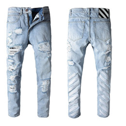 $enCountryForm.capitalKeyWord Australia - 2019 Summer New Man Up Jeans Washing In Waist Small Straight Foot Trousers#599