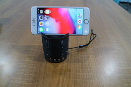 Iphone Stereo Player Australia - Wireless Bluetooth Speaker Stereo Sound Super Bass Music Player Cell Phone Stand Holder For PC iPhone 6 7 8 Plus X Samsung Galaxy