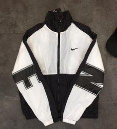 Overseas Fashion Sport Casual Jacke Windschutzscheibe Jacke Männer und Frauen Liebhaber Mantel Farbe: schwarz. Größe: M-XXL im Angebot
