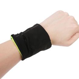 China Unisex Zipper Workout Wristband Pouch Sports Wrist Pocket Wallet Safe Sport Bag cheap safe coins suppliers