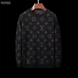 Hand knitted clotHing online shopping - 2019 new men s sweater pullover men s brand designer hoodie long sleeved designer sweatshirt letters embroidery sweater winter clothing