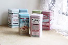 $enCountryForm.capitalKeyWord Australia - 1PC English Letter Tea Caddy Jars Candy Storage Box Wedding Favor Tin Can Jewelry Organizer Container Household Europe ENL 007
