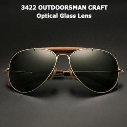 Vintage styles glasses online shopping - JackJad Vintage OUTDOORSMAN CRAFT Style Sunglasses Quality Optical Glass Lens Brand Design Sun Glasses Oculos De Sol UV400