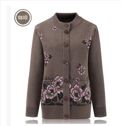 fcb033ba0a6 Quality wool sweaters women online shopping - The high quality mother  sweater fashion hot diamonds woolen