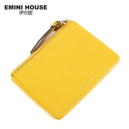 Pp Housing Australia - Wholetide- Emini House Genuine Leather Coin Purse Muti-colors Women Mini Purses Coin Wallet Fashion Women Purses Zipper Clutch Purse