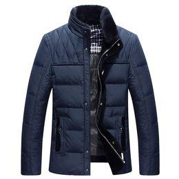 $enCountryForm.capitalKeyWord Australia - 2018 Brand White Duck Down Jacket Men Winter Jackets Mens Thick Warm Fur Collar Down Coat Fashion Parkas Hoods M-3xl T190817