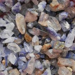 Tang Crystals Australia - Crystal Natural crystal blue crystal stone with stone wool kyanite ore type