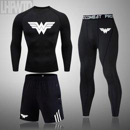 2020 Print Running Men's Fitness Shirt Rashguard Men's Long Sleeve T-Shirt Bodybuilding T Shirt tops on Sale