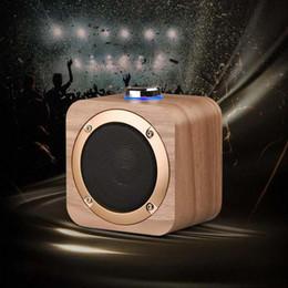 $enCountryForm.capitalKeyWord Australia - New Wooden Bluetooth Wireless Speaker Woden Loudspeakers Surround Mini Wood Wireless Music Player Speaker for Phone computer free ship