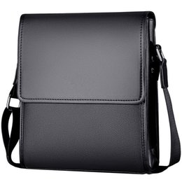 Messenger Bags For Men Leather Australia - New Arrival Business Men Messenger Bags Vintage Leather Crossbody Shoulder Bag For Male Brand Casual Man Handbags Fashion Bags Y19051802