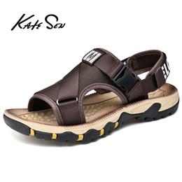 $enCountryForm.capitalKeyWord Australia - Men's Beach Sandals 2019 New Summer Gladiator Man Outdoor Shoes Roman Men Casual Shoe Flip Flops Fashion Slippers Big Size39-47