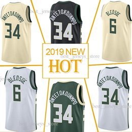 Hot cotton sportswear online shopping - 34 Giannis Basketball Jerseys Eric jersey Milwaukee Hot sale Jersey sportswear Free shopping