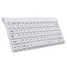 China Professional USB Interface Keyboard Multimedia Laptops PC Sensitive Practical Wired Portable Lightweight 78 Keys Universal cheap wire interface suppliers