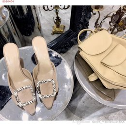 Springs Fashion Heels Australia - New spring summer 2019 Fashion trend women slippers comfortable daily style women mid-heeled slippers