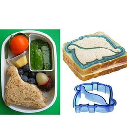 $enCountryForm.capitalKeyWord NZ - Kid DIY Sandwich Toast Cookies Mold Cake Bread Biscuit Cutter Dinosaur Shape Non-stick Non-toxic Decorating Tools Bakeware Pastry Tools