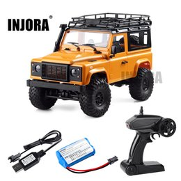 Defender Cars NZ - 1:12 Scale MN Model RTR Version RC Car 2.4G 4WD MN-90K MN-91K RC Rock Crawler D90 Defender Pickup Remote Control Truck Toys