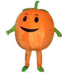 Adult Size Pumpkin Costume Australia - 2019 Discount factory sale Cute Pumpkin Adult Size Mascot Costume Fancy Birthday Party Dress Halloween Carnivals Costumes