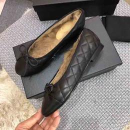 $enCountryForm.capitalKeyWord UK - New Women's luxury winter ballet shoes, electric embroidery lingge grain warm ballet shoes, winter rabbit hair ballet shoes,size:35-41