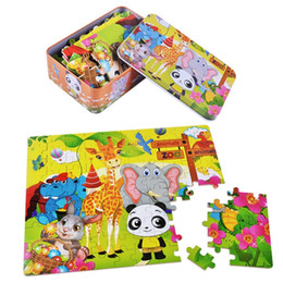 $enCountryForm.capitalKeyWord Australia - 2019 new 60 piece iron box jigsaw puzzle wooden puzzle wooden toys for early childhood education