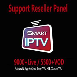 IPTV Subscrição 9000 + LIVE E 5000 + VOD Abonnement IPTV Francês Portugal Itália Europa Árabe EUA 50 + Países IPTV Para IOS TV CAIXA M3U em Promoção