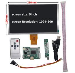 Venta al por mayor de 9 pulgadas de pantalla LCD de pantalla del monitor con el controlador remoto Junta de Control de HDMI para la Frambuesa Pi plátano / Naranja Pi mini ordenador