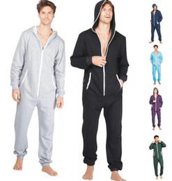Jumpsuit Sleepwear Blue Australia - New sports Adult Sleep Lounge sleepwear One Piece Pyjamas Male Jumpsuits Hooded Onesies Unisex Onesies Sleepsuit Nightgown