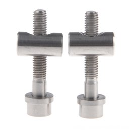 ti accessories Australia - Bicycle Seatpost Fastening MTB Mountain Bike Ti Parts Screws Titanium Bolts M5X30 Bicycle Accessories Cycling for Thomson Seatpost Bike Acce