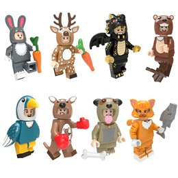 $enCountryForm.capitalKeyWord Australia - Animal Dog Pug Otter Sika Deer Black Dragon Kangaroo Parrot Bird Rabbit Cat Mini Toy Figure Building Block