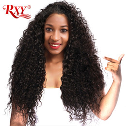 $enCountryForm.capitalKeyWord Australia - Afro Kinky Curly Human Hair Wig Brazilian Virgin Kinky Curly 360 Full Lace Human Hair Wigs With Baby Hair Natural Black Lace Wigs