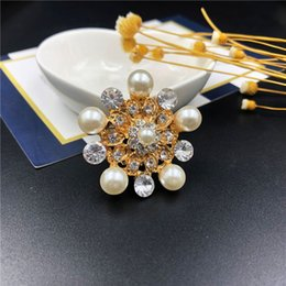 81b1430904e Wholesale brooches for sale online shopping - Fashionable Hot Sale Ladies  Brooch Metal Hollowed Out Rhinestone