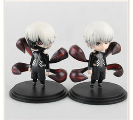 kaneki figure NZ - NEW ARRIVAL Ken Kaneki Figure Tokyo Ghoul Kaneki Ken PVC Action Figure Toy Collectible Model Doll Toys With Box 10cm 2styles set