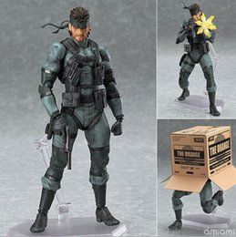 $enCountryForm.capitalKeyWord Australia - NEW hot 16cm METAL GEAR SOLID 2: SONS OF LIBERTY Snake mobile collectors action figure toys Christmas gift doll