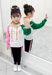 Guard clothinG online shopping - New Children s Westernized Guard Clothes in Fashionable Net Red Spring and Autumn Girls Sports Tide Children s Clothes