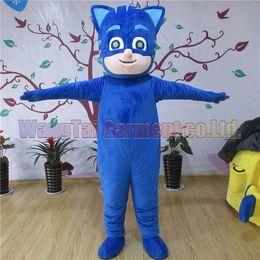 Wholesale cartoon hero costumes online – ideas New Hero Cat mascot costume Top grade deluxe cartoon character costumes Cat mascot suit Fancy dress party carnival