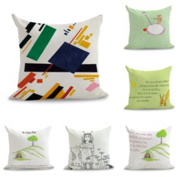 $enCountryForm.capitalKeyWord Australia - Pop Art The Little Prince Neck Body Pillowcase Linen Bed Travel Pillows Cover Couch Seat Cushion Throw Pillow Home Decoration
