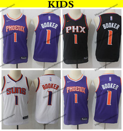 8ba6cfbe7 Youth basketball shirts online shopping - 2019 Kids Phoenix Suns Devin  Booker Basketball Jerseys Youth Devin